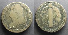 Louis XVI, 2 sols dit « au faisceau », type François, 1792 N (Montpellier)