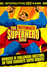 DVD:THE ULTIMATE SUPERHERO QUIZ - NEW Region 2 UK