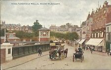 Rare Early Postcard, United Kingdom, Turnbridge Wells,  Horse drawn Bus