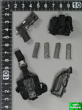 1:6 Scale DID SWAT Denver MA1006 - .45 Pistol w/ Holster Set