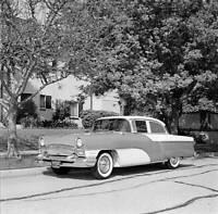 1955 Packard Custom Clipper Road Test OLD CAR ROAD TEST PHOTO
