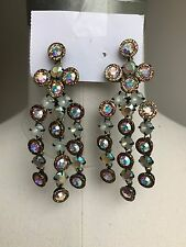 New Women J.Crew Cascade Crystal Earrings
