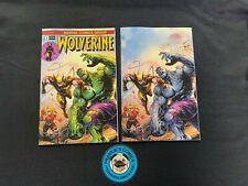 Wolverine 1 Virgin set Tyler Kirkham Marvel Incredible Hulk 181 Homage Variant