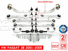 FOR VW PASSAT 01-05 FRONT SUSPENSION ARMS LINKS TRACK ROD KIT GERMAN QUALITY