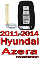 NEW For 2011 2012 2013 2014 Hyundai Azera Keyless Remote Key Fob SY5HMFNA04