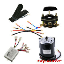 Electric Bike 500w 24v Brushed Controller Motor Engine Pedal Reverse Switch Wire