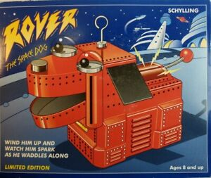 1999 Rover The Space Dog Schylling Ltd Edition Collector's Series Wind-UpTESTED