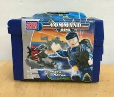 MEGA BLOKS COMMAND OPS #5502 Scanner Recon New in Package