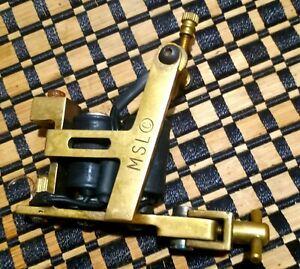 Micky Sharpzz Brass Hybrid Tattoo Machine