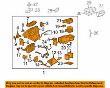 MERCEDES OEM 01-08 C320 3.2L-V6 HVAC-A/C & Heater Assembly 2098300362 CLK63 AMG