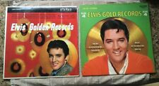 ELVIS PRESLEY GOLD RECORDS VOLs 1+4 RCA LSP 1707, 3921 LP VINYL