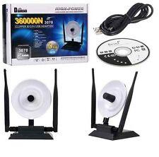 Antenna WiFi Wireless usb 36 dbi amplificatore antenne per notebook Pc cellulari