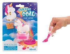 Rosa Mini unicornio caca Slime VENTOSA supurar Táctil PLAY