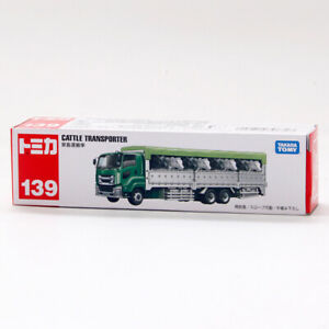 Tomica Long Type NO#139 Cattle Transporter Truck Metal Diecast Vehicle New