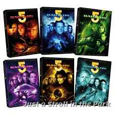 Babylon 5: Complete TV Series Seasons 1 2 3 4 5 + Movies Collection Box/DVD Sets