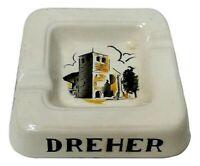 posacenere portacenere  birra dreher anni 50 ceramica albani san marino