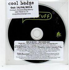 (GD830) Mr Scruff, Render Me - 2014 DJ CD