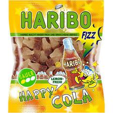 20 Tüten Haribo Happy-Cola Lemon 200g sauer