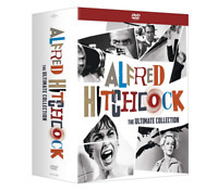 Alfred Hitchcock: The Ultimate Collection DVD Box Set Free Shipment