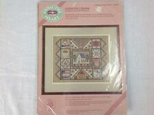 New NIP From the Heart Counted Cross Stitch Kit Country Charm  53532