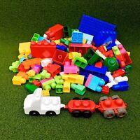 Large Mega Bloks Bundle 167 Pieces Building Construction Toys Children Play Fun