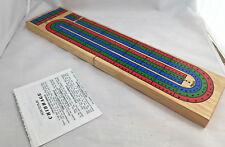 Cribbage Tablero Asiento Inodoro The Trainer Madera Ovalado 4 Clavijas Vintage Toys & Hobbies