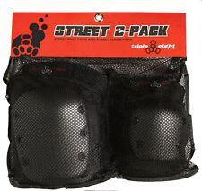 Triple Eight Street Knee and Street Elbow Pads 2-Pack, SIZE X-SMALL, JUNIOR