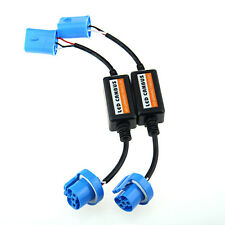 9007 Led Error Canceler Anti Flicker Capacitor Headlight Wire Canbus Plug Pair