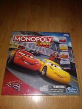 Monopoly Jr. Cars 3 Junior Board Game Hasbro b34