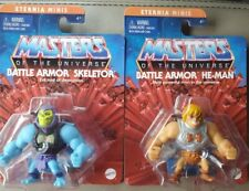 ETERNIA MINIS of the Universe 2021 BATTLE ARMOR SKELETOR & HE-MAN BNIP