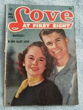 Love at First Sight #32 - December 1954 - Comic Book