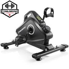 OPEN BOX - Under Desk Pedal Exerciser Bike - Mini Stationary Exercise Cycle