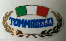TOMMASELLI HANDLE BAR CLIP ON DECAL DUCATI SS900 MV AGUSTA MOTO GUZZI LE MANS S3