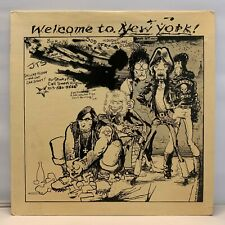 "The Rolling Stones - Welcome To New York 12"" Blue Vinyl White Label TMOQ"
