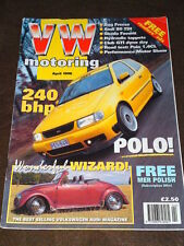 VW MOTORING - 240bhp POLO - April 1996