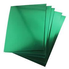 Hygloss Green Metallic Foil Board Sheets, 8.5 x 11-Inch, Shiny, 25-Sheets