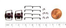 Ersatz-Griffe karminrot + schwarz z.B. für ROCO DSB Diesellok Nohab Spur H0 NEU