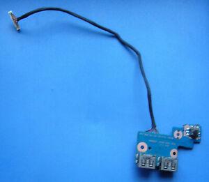 Einschaltplatine Power Button USB Board mit Kabel SAMSUNG NP305E7A   BA92-09366A