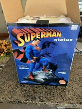 DC DIRECT FULL SIZE SUPERMAN JIM LEE STATUE Hush LIMITED HTF #6432 Of 6500.