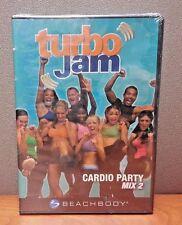 - Turbo Jam - Cardio Mix 2 (Dvd, 2005) Brand New