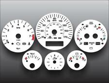 1998-2003 Jaguar XJ8 Instrument Cluster White Face Gauges