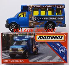 Matchbox Contemporary Manufacture Diecast School Buses for