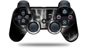 Skin for PS3 Controller Lightning White CONTROLLER NOT INCLUDED