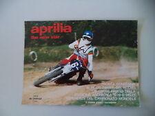 advertising Pubblicità 1977 MOTO APRILIA 125 CROSS (MX/RC)