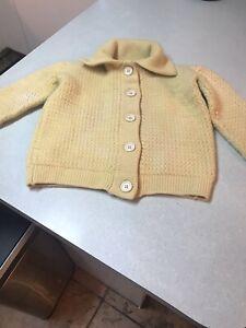 Prada Cashmere Sweater Yellow