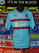 4/5 West Ham United adults L 2001 away football shirt jersey trikot