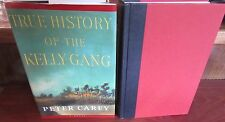 TRUE History of the KELLY Gang ~ Peter Carey 1st HbDj 2001  BOOKER Prize in MELB