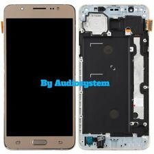 DISPLAY LCD+TOUCH SCREEN +FRAME SAMSUNG GALAXY J7 2016 SM-J710F ORO GOLD VETRO