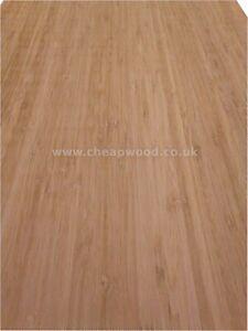 """Natural Bamboo Wood Veneer 2500 x 430mm / 98.4"""" x 16.9"""""""
