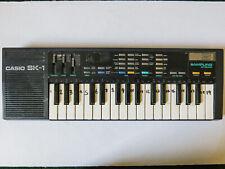 CASIO SK-1 Sampling Keyboard Vintage Synth Sampler Mini 1980's Retro